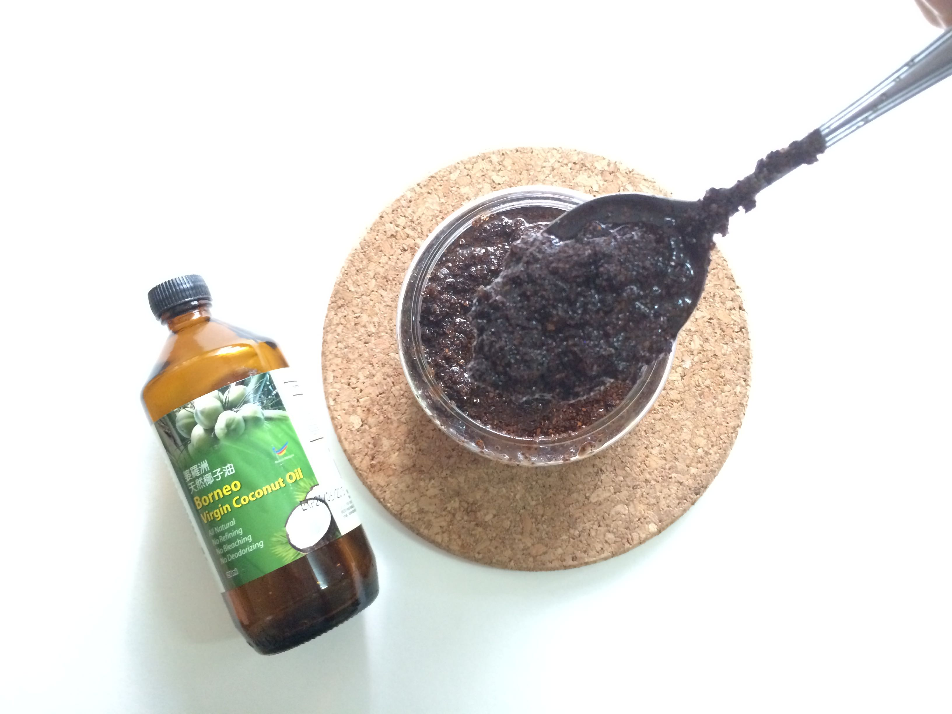 coffee scrub borneo virgin oil 3