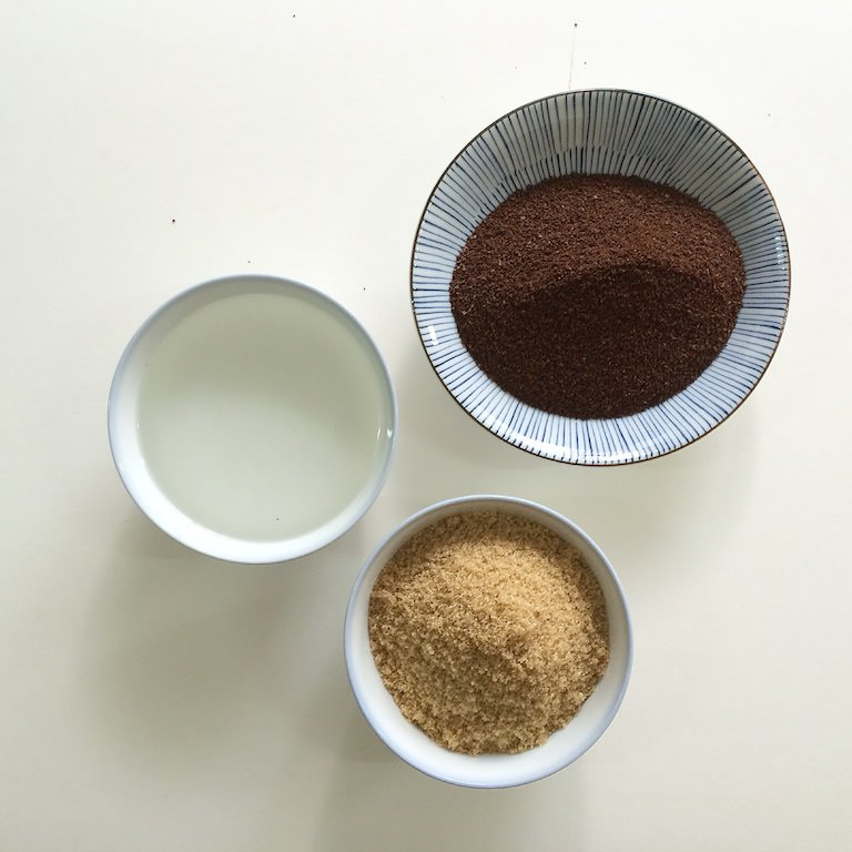 coffee scrub borneo virgin oil