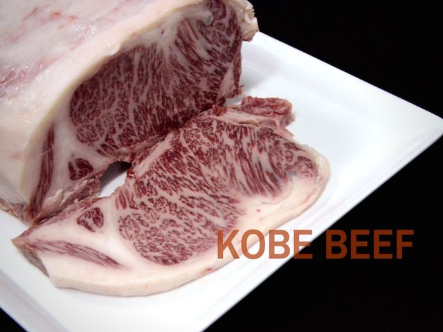 Luxuriously Kobe Beef at Flames Steak Restaurant, Le