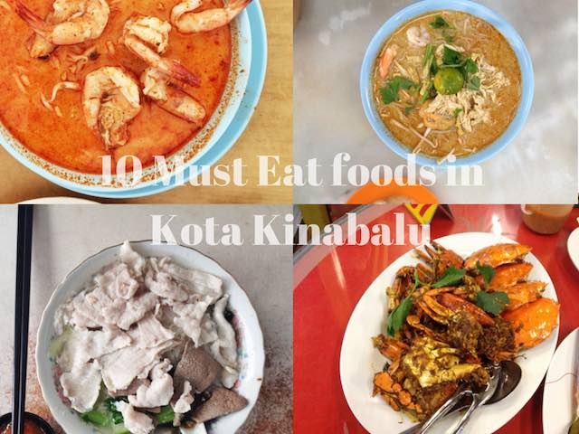 Tourist Guide – 10 local foods you must eat at Kota Kinabalu