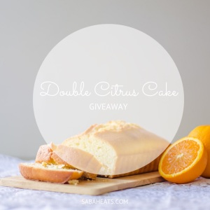 commas oven citrus cake giveaway