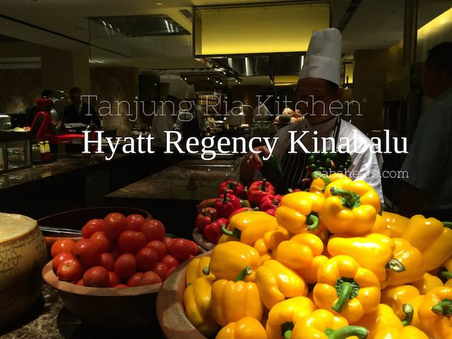 Tanjung Ria Kitchen buffet at Hyatt Regency Kinabalu