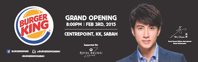 BURGER KING® CENTREPOINT SABAH OFFICIAL OPENING