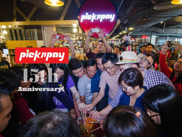 pick n pay Celebrate 15th Anniversary!