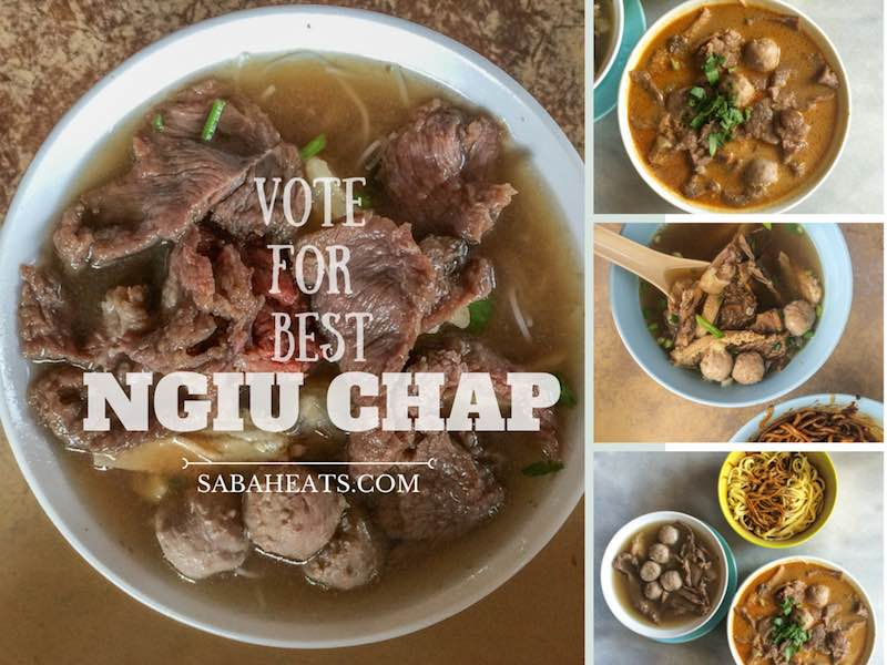 Vote for your favourite Beef Noodle in Kota Kinabalu!