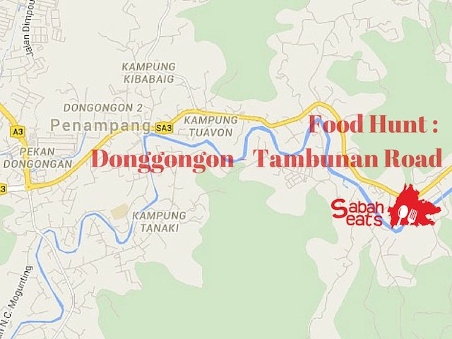 Food Hunt – Donggongon – Tambunan Road