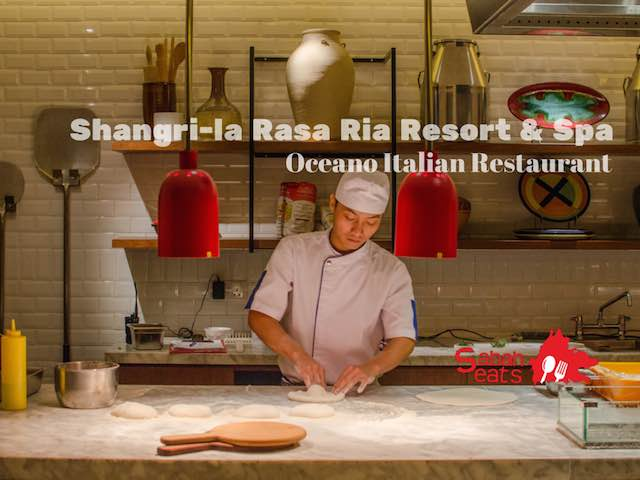 Oceano Italian Restaurant lauching at Shangri-la's Rasa Ria Resort and Spa