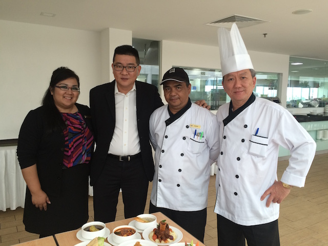 """Media Friends Food Tasting"" at Soluxe Hotel Kota Kinabalu"