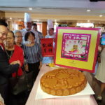 Wow! 38kg Giant Mooncake by Promenade Hotel