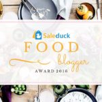 Saleduck Food Blogger Award 2016