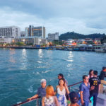 Sunset dinner cruise on North Borneo Cruises
